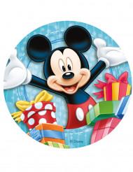 Mickey™ suiker taartdecoratie 20 cm