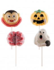 4 Halloween marshmallow lolly