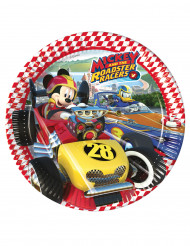 8 Mickey Racing™ borden 23 cm