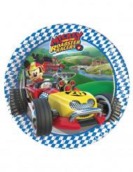 8 kleine Mickey Racing™ borden 20 cm