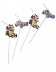 6 Mickey & Donald Racing™ rietjes