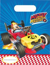 6 Mickey Racing™ feestzakjes