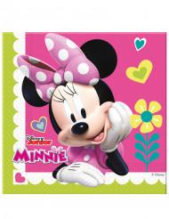 20 Happy Minnie™ servetten