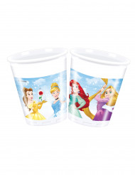 8 plastic Disney Princesses™ bekers
