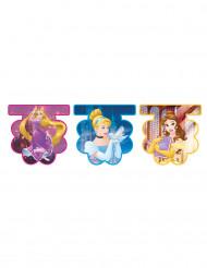 Disney Princesses™ verjaardagsslinger met plastic vlaggetjes