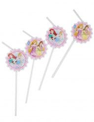 6 Disney Prinsessen™ rietjes
