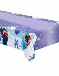Plastic paars Frozen™ tafelkleed