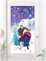 Frozen™ deurdecoratie 75 x 150 cm
