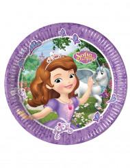 8 kartonnen Sofia het prinsesje™ borden