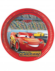 8 kartonnen Cars 3™ borden