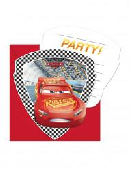 6 Cars 3™ uitnodigingen en enveloppen