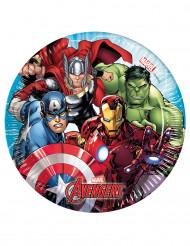 8 kartonnen Mighty Avengers™ borden