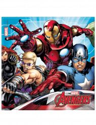 20 papieren Mighty Avengers™ servetten