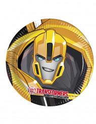 8 kartonnen Transformers Robots in Disguise™ borden