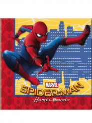 20 papieren servetten Spiderman Homecoming™