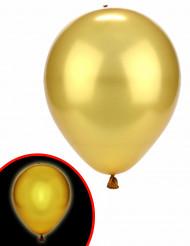 Goudkleurige LED ballonnen Illooms®