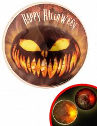 Lichtgevende Halloween badge