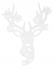 Kerst rendier raamdecoratie