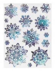 15 sneeuwvlokken raamdecoraties