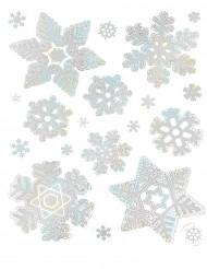 Holografische sneeuwvlokken decoraties