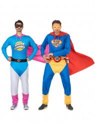 Super Connard en Super Buveur koppelkostuum