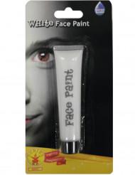 Witte verf voor gezicht 25 ml