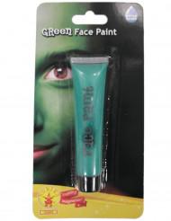 Groene gezichtsschmink