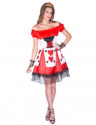 Hartenvrouw kostuum voor vrouwen
