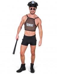Ondeugend politie agent kostuum voor heren