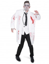 Zombie dokter kostuum voor mannen
