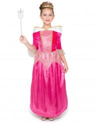 Roze magische prinses fee kostuum voor meisjes