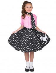 Jaren 50 retro kostuum voor meisjes