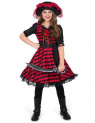 Atlantische piraat kostuum voor meisjes