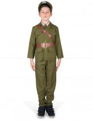 Legerofficier kostuum voor jongens