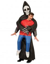 Opblaasbaar reaper kostuum voor volwassenen