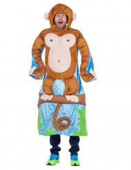 Aap in de boom kostuum voor volwassenen
