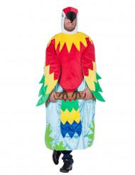 Papegaai in boom kostuum voor volwassenen