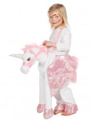 Carry me eenhoorn kostuum voor kinderen