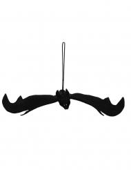 Zwarte vleermuis ophangdecoratie