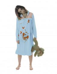 Zombie pyjama kostuum voor vrouwen