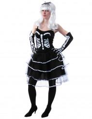 Skelet prinses kostuum voor vrouwen