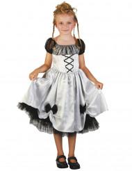 Witte bruidsjurk kostuum voor meisjes