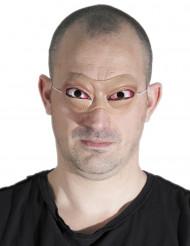 Uitpuilende ogen halfmasker voor volwassenen