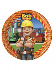 8 kartonnen bordjes Bob de Bouwer™
