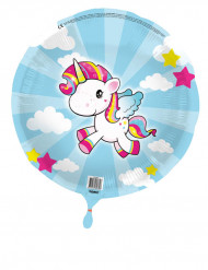 Kleine eenhoorn aluminium ballon