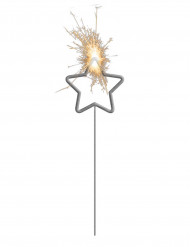 Sterretjes vuurwerkstokje in stervorm