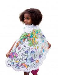 Omkeerbare prinsessen cape voor meisjes
