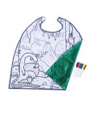 Omkeerbare draken cape voor jongens