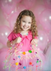 Roze versierbare tutu voor meisjes