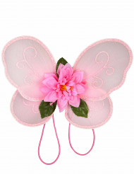 Roze feeën vleugels voor meisjes